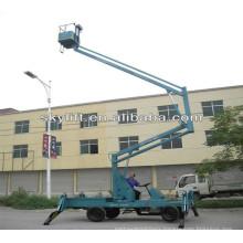 wall mounted folding table lift platform