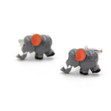 VAGULA слон Gemelos рубашку Запонки (HLK35144)