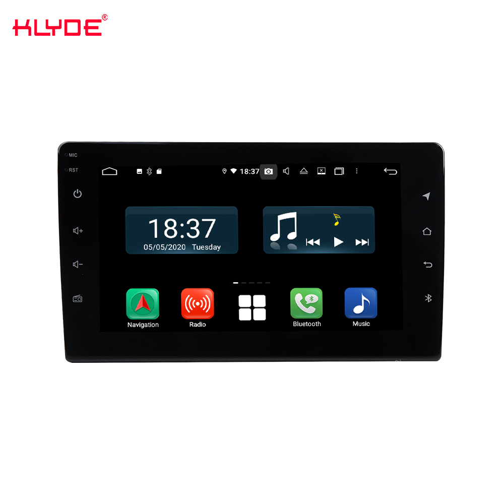 single din 9inch touch screen universal car gps navigation