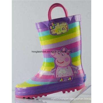 Children Non-Slip Rubber Rain Boots 09