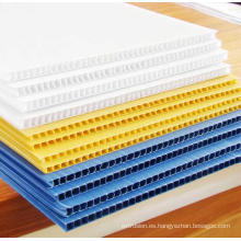 Materiales corrugados PP Hollow Board