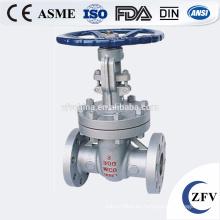 Fábrica precio ZFV API600, API6D, DIN 3202 conexión de extremos de brida/SW/NPT/BW puerta de fundición y forjado