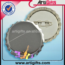 Factory supply tin badge blank button badge wholesale