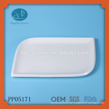 Kundenspezifische Porzellan-Teller zum Verkauf