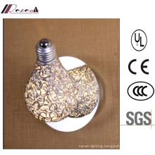 Modern Hotel Decorative Aluminum 25W LED Wall Lamp