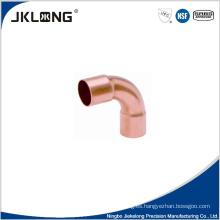 J9014 de cobre forjado de 90 grados de codo grande de R 1 pulgada de conexión de tubería de cobre