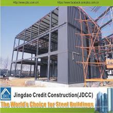 Structure en acier préfabriquée soudée par conception professionnelle chinoise