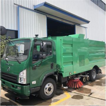 Vehículo de barrido de carreteras diesel LHD