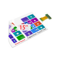 "15 ""Interactive Touch Foil Single ou Multi Touch"
