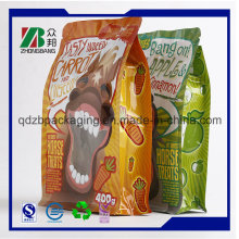 Верхнее качество 8 сторон загерметизированная сумка мешка еды собаки с нижним Gusset