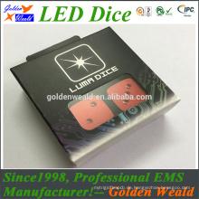 bunte rote grüne blaue LED-Beleuchtung MCU-Steuerung bunte LED-Würfel