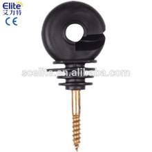 isoladores elétricos da linha de cerca