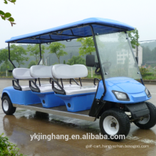 2017 new CE 8 seater/passenger gasoline go cart/sightseeing car with high quality
