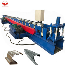 Metal seamless rain gutter roll forming machine for sale