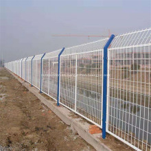 Cercas de malla de alambre soldadas para jardín con recubrimiento de polvo