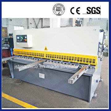 Máquina de corte da placa do CNC, guilhotina hidráulica do CNC que escava a máquina (QC12K-12X3200)
