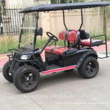 Carro de golfe do carro do clube do frag dos EUA com o motor 4kw poderoso e fora do pneu