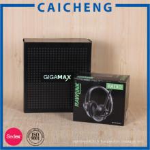 Boîte d'emballage ondulée de papier adaptée aux besoins du client avec l'impression de CMYK