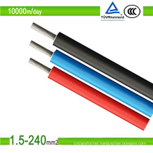 TUV Approved Single Core PV Cable 1kv, Solar Cable, PV1-F