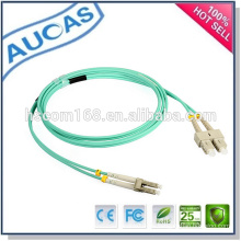 Systimax LC SC ST fibra óptica patch cord / single multi modo fibra óptica parche cordón / simplex dúplex cordón óptico /