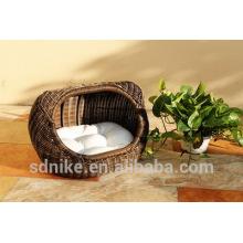 2014 hot sale latest design high quality waterproof garden rattan cheap animal cage