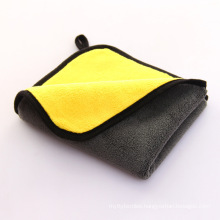 custom logo polyester cleanning microfiber drying interior seat car wash auto detailing toweling towel towels