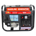 Цена по прейскуранту завода 3кВт бензин Partable генератора двигателя 220В установить