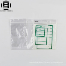 Medicine packing bag hospital can be written virgin LDPE
