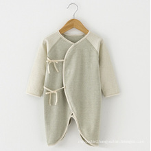 High Quality Natural Organic Cotton Baby Romper