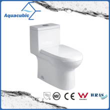 Siphonic Dual Flush Ceramic Toilet in White (ACT9324)
