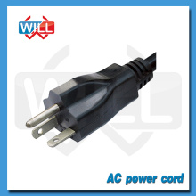 Great quality detachable power cord with US plug