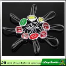 Coche de Metal personalizado símbolos marca llavero