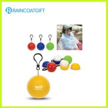 PE Disposable Raincoat Ball Rpe-008A