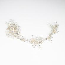 Wedding silver crystal hair accessories bridal hair headdress handmade wholesale  hair accessories