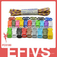 2015 hotsale colorful paracord buckles