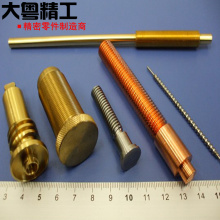 Brass Machined Parts Pipe and Flare Fittings