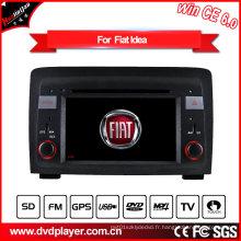 Lecteur DVD voiture Hualingan pour FIAT Idea Lancia Musa DVD Navigation Windows Ce