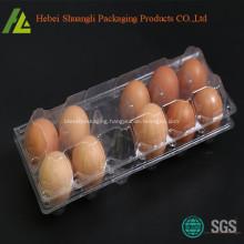 12 eggs plastic packaging tray