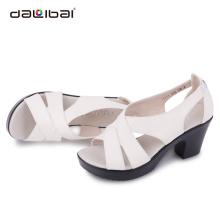 Italian fashion women high heel relaxing summer sandal shoes