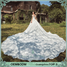 Custom made wedding dresses online Alibaba wedding dress bridal gown manufacturer luxury bride wedding dresses gowns