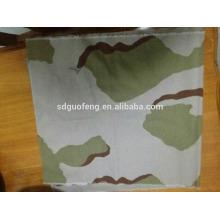 Tissu de tissu de camouflage de stocklot TC Camouflage / ripstop imprimé pour l'uniforme / vêtement