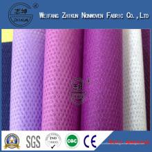 PP Cambrelle Spunbond tela no tejida para el forro del zapato (PP cambrella)
