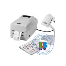 Thermal transfer barcode label printer garment care label ribbon clothes printer t-shirt printing machine