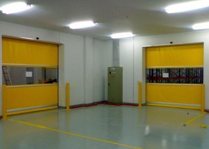 pvc curtain high speed door