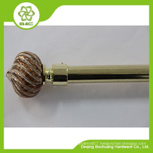 Made in China Hot Sale single double window curtain rod
