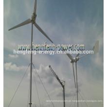 gerador de energia residencial vento 600W pequeno