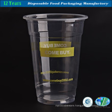 Crystal Clear Plastic Juice Cup Wholesale