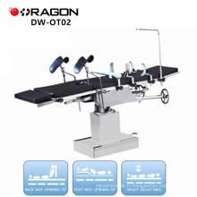 DW-OT02 Opérateurs de salle d'opération fabricants électriques multi-usages opreating table contrôlée