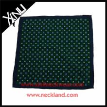 Traje de hombre de producto nuevo Pañuelo de bolsillo de estampado personalizado