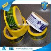 Billige BOPP Marken-Sicherheits-Dichtungs-Box Verpackungsband